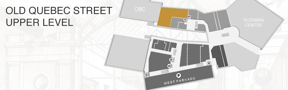 Old Quebec Street Mall Aecom Map