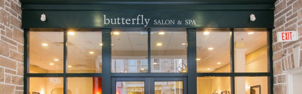 Downtown Quebec Street Mall Butterfly Salon Guelph