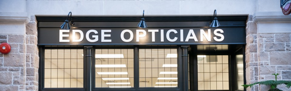 Downtown Quebec Street Mall Edge Opticians Guelph