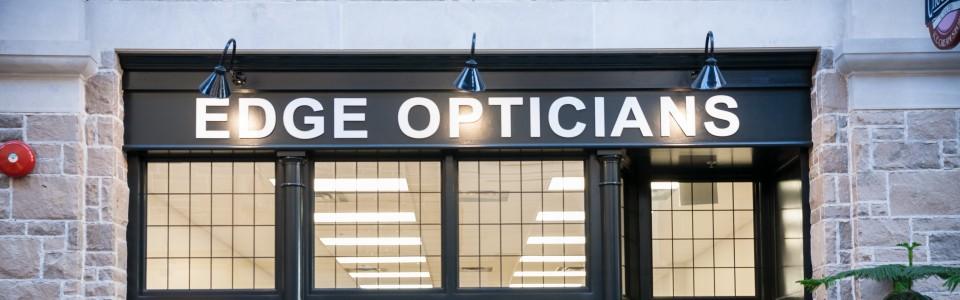 Downtown Quebec Street Mall Edge Opticians Guelph