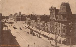 Historical Photo of Wyndham St- Old Quebec Street Shoppes