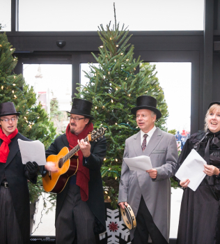 Victorian Christmas Celebration and Emerging Entrepreneur