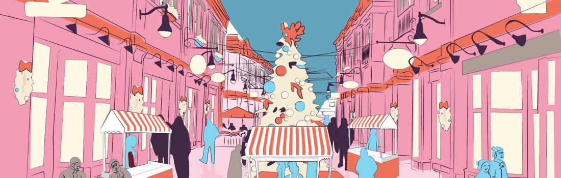 December 6 – 8 2019 Christmas Village Market