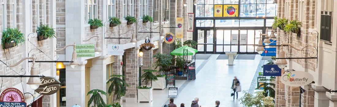 The Old Quebec Street Shoppes Website