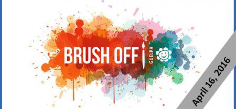 Brush-Off Art Elimination at Old Quebec Street Shoppes in Guelph